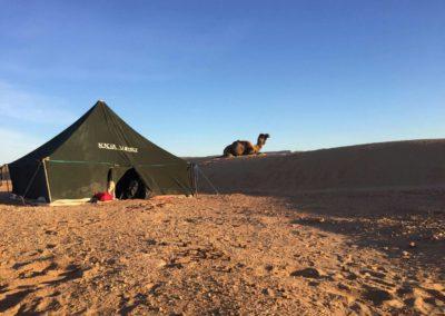 Tente nomade
