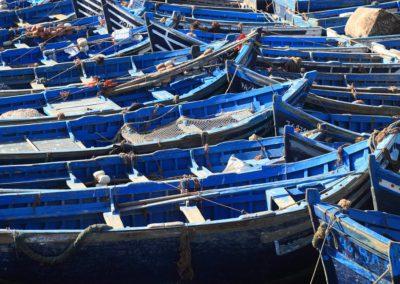 Bâteaux à Essaouira