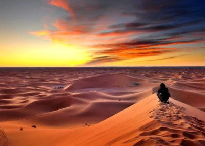 Dunes de Merzouga à Erg Chebbi