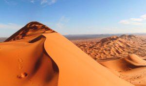 dunes de sable de l'Erg Chebbi