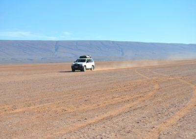 Piste en 4x4 dans le désert marocain