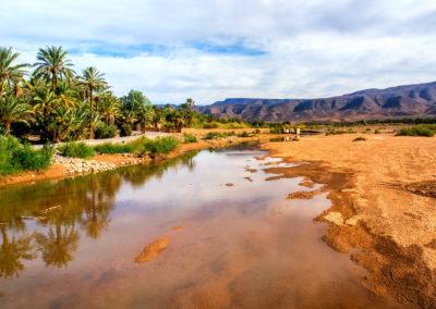 Excursion dans le désert marocain