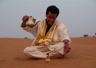 Cérémonie du thé avec Younès